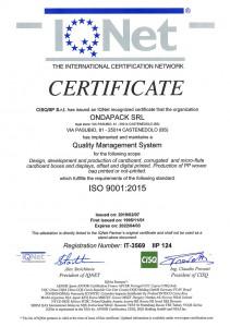 EN - ISO 9001:2015